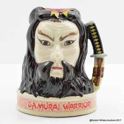 Jim Beam Ceramic Samurai Head 20cl