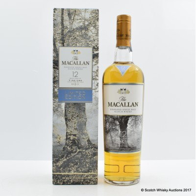 Macallan 12 Year Old Fine Oak Limited Edition Taiwan Exclusive