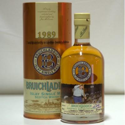 Bruichladdich 1989 Scandlines Cask No 4