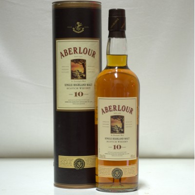 Aberlour 10 Year Old St Drostan's Well Label