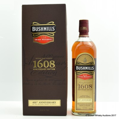 Bushmill's 1608 400th Anniversary 75cl