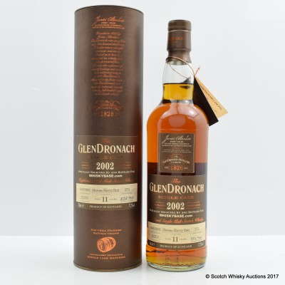 GlenDronach 2002 11 Year Old Single Cask #2751 for Whiskybase.com