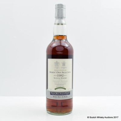 Glenlivet 1982 26 Year Old Berry Bros & Rudd for Germany