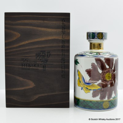 Hibiki 35 Year Old Kutani Ceramic Decanter