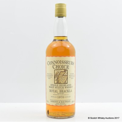 Royal Brackla 1970 Connoisseurs Choice 75cl