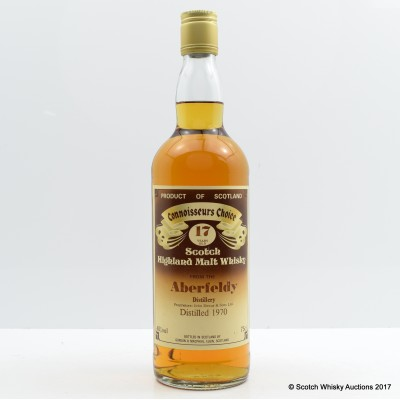 Aberfeldy 1970 17 Year Old Connoisseurs Choice 75cl