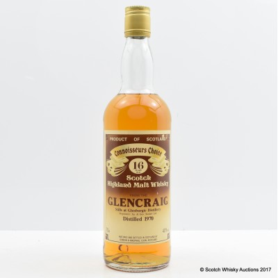 Glencraig 1970 16 Year Old Connoisseurs Choice 75cl