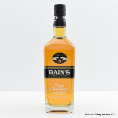 Bain's Cape Mountain South Afrtican Whisky 75cl