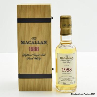 Macallan 1988 23 Year Old Mini 5cl