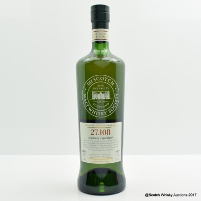 SMWS 27.108 Springbank 2000 14 Year Old