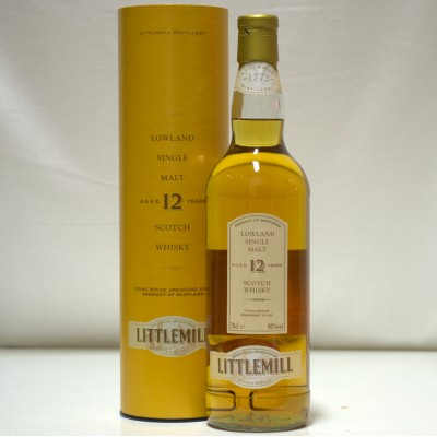 Littlemill 12 Year Old In Tube