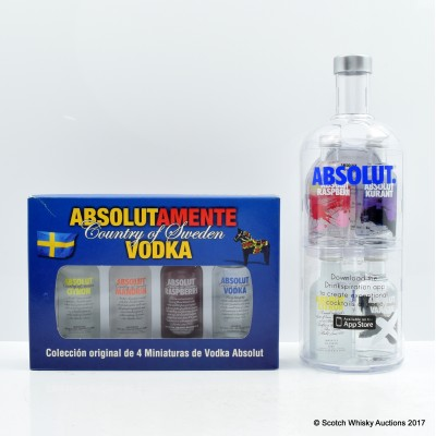 Absolut Vodka Minis Set x 2