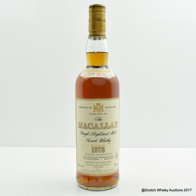 Macallan 18 Year Old 1978 (Rothschild Import)