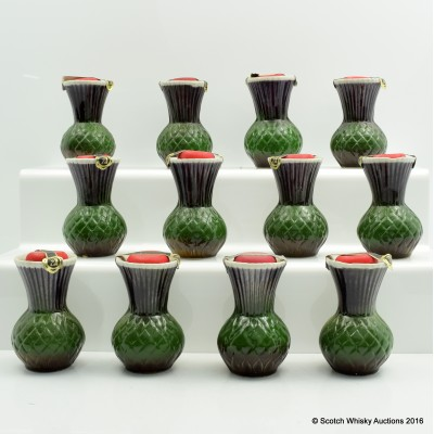 Rutherfords Ceramic Thistle Minis x 12