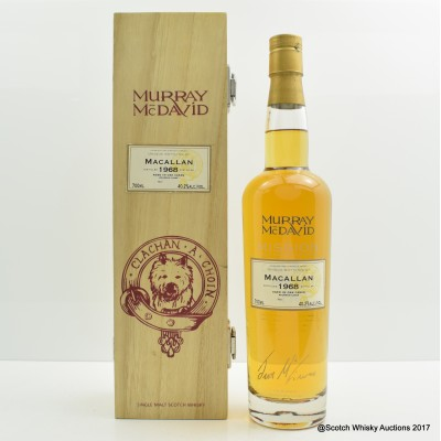 Macallan 1968 Murray McDavid
