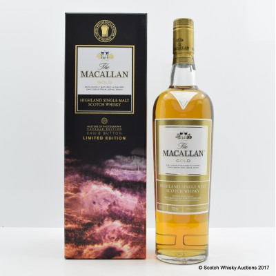 Macallan Gold Masters of Photography Ernie Button Capsule Edition