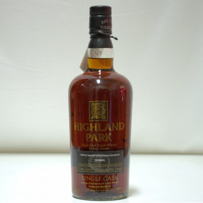 Highland Park Single Cask Cask No. 1555 For Oddbins