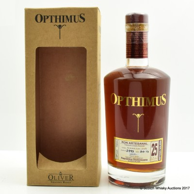 Opthimus 25 Year Old Rum