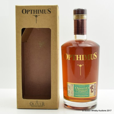 Opthimus 15 Year Old Graham's Oporto Cask Rum
