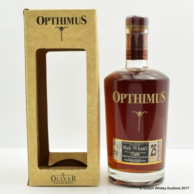 Opthimus 25 Year Old Tomatin Malt Whisky Cask Rum