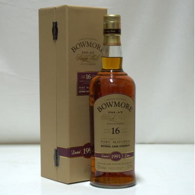 Bowmore 1991 16 Year Old Cask Strength Port Finish