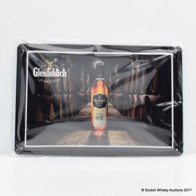 Glenfiddich Embossed Metal Plaque