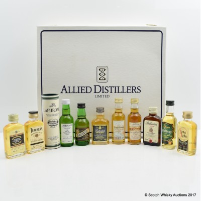Allied Distillers Collection 10 x 5cl with Letter