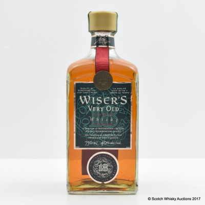 Wiser's Very Old 18 Year Old 75cl