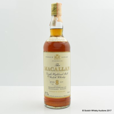 Macallan 8 Year Old 75cl
