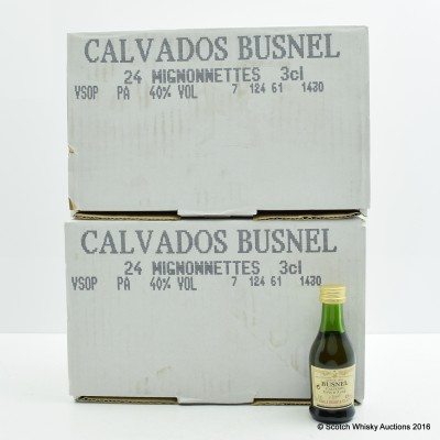 Busnel VSOP Calvados Minis 48 x 3cl