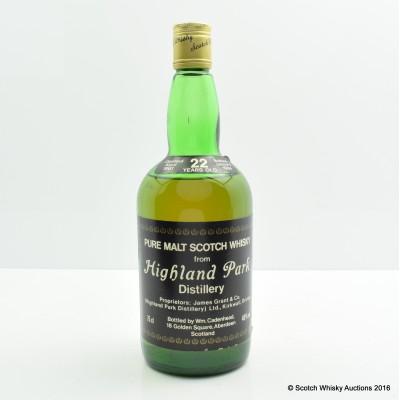 Highland Park 1961 22 Year Old Cadenhead's 75cl
