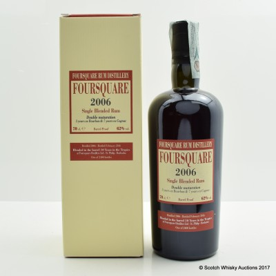 Foursquare 2006 10 Year Old Rum