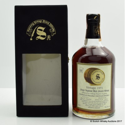Macallan 1971 27 Year Old Signatory