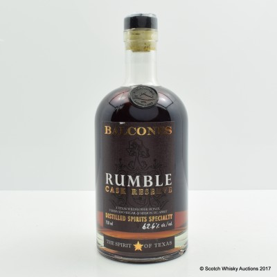 Balcones Rumble Cask Reserve 75cl