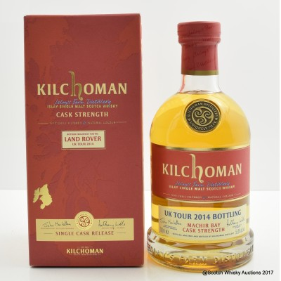 Kilchoman Machir Bay Bottled Exclusively For The Land Rover UK Tour 2014