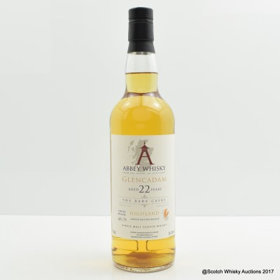 Glencadam 1991 22 Year Old Abbey Whisky