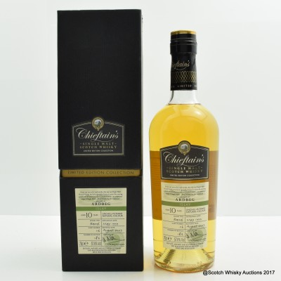 Ardbeg 1999 10 Year Old Chieftan's