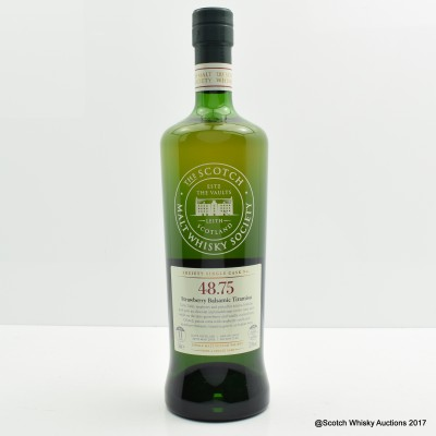 SMWS 48.75 Balmenach 2005 11 Year Old