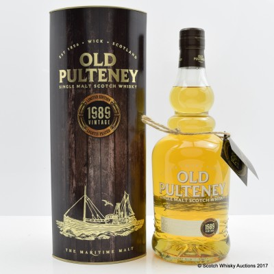 Old Pulteney 1989 Vintage