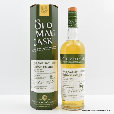 Tobermory 1994 19 Year Old Old Malt Cask