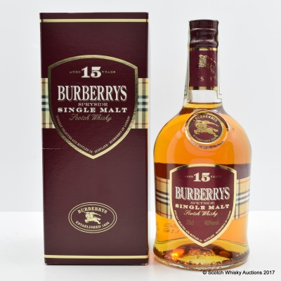 Burberrys 15 Year Old