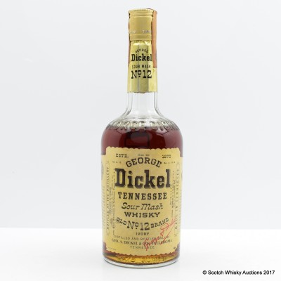 George Dickel No.12 Brand Old Style 75cl