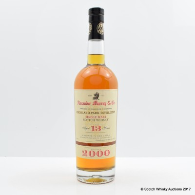 Highland Park 2000 13 Year Old Alexander Murray & Co 75cl