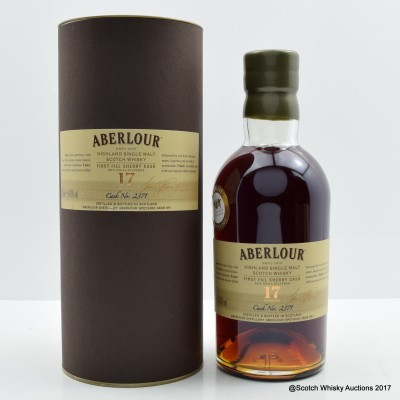 Aberlour 17 Year Old Single Cask #2371 for The Whisky Exchange