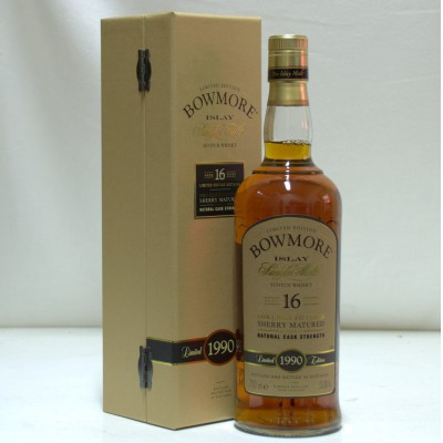 Bowmore 1990 16 Year Old