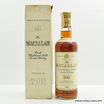 Macallan 1965 17 Year Old 75cl