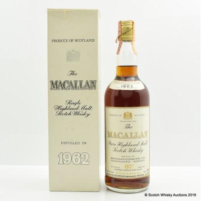 Macallan 1962 26 2/3 Fl Ozs