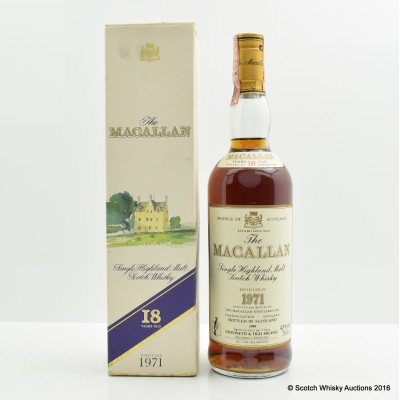 Macallan 18 Year Old 1971 75cl