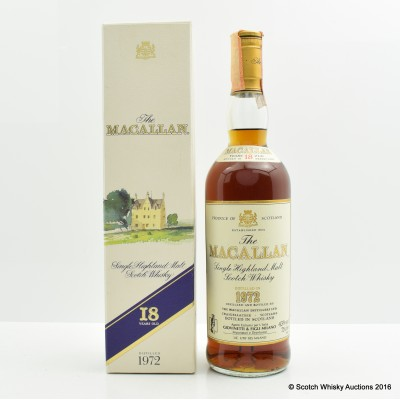 Macallan 18 Year Old 1972 75cl