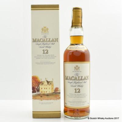 Macallan 12 Year Old Sherry Oak